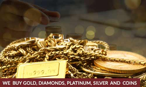 We Buy Gold, Diamonds, Platinum, Silver And Coins