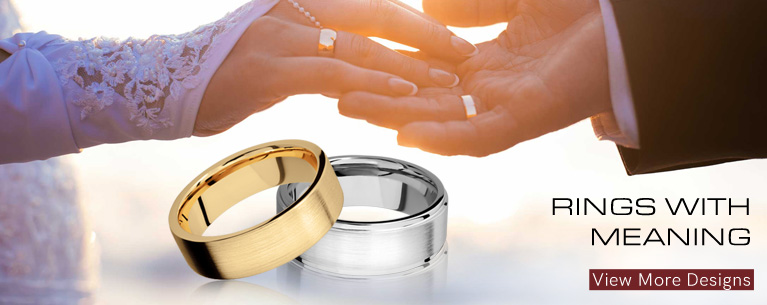 Customized Wedding Bands Available At Morande Jewelers