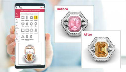Custom Studio App At Morande Jewelers