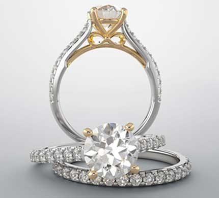 Diamond Rings At Morande Jewelers
