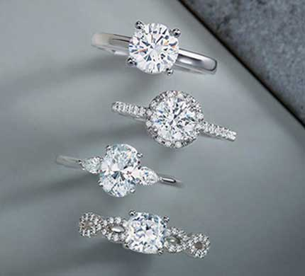 Diamond Rings Collection At Morande Jewelers